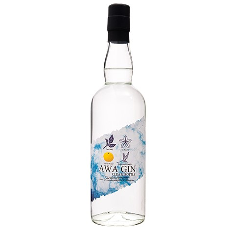 AWA GIN CLEAR BOTTLE (アワ ジン クリアーボトル)